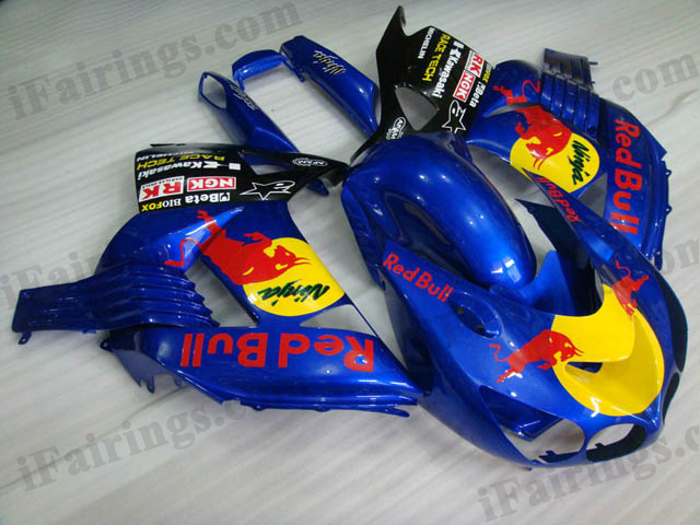 2006 2007 2008 2009 2010 2011 ZX14R red bull fairing kits