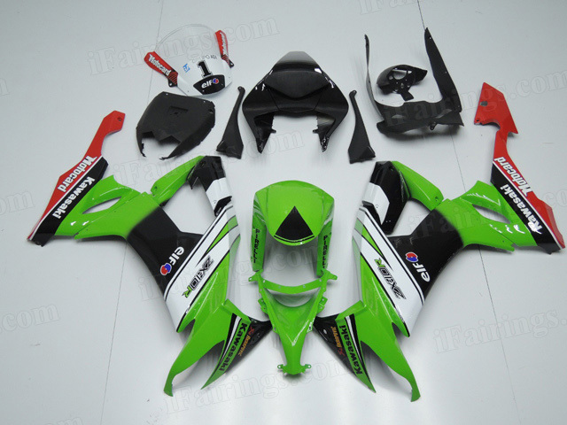 2008 2009 2010 Kawasaki ZX10R custom fairing kits.