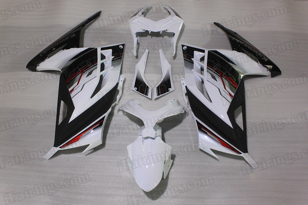 Fairing kits for 2013 2014 2015 Kawasaki Ninja 300 Special Edition.