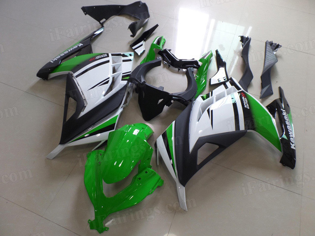 Kawasaki 2013 2014 2015 Ninja 300 30th anniversary edition graphic.