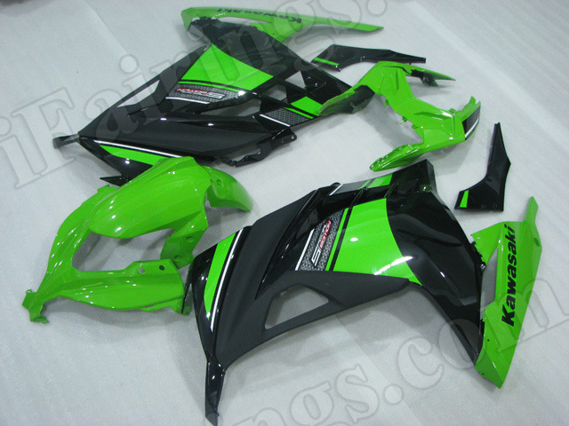 Motorcycle fairings/bodywork for Kawasaki 2013 2014 2015 Ninja 300 Special Edition.
