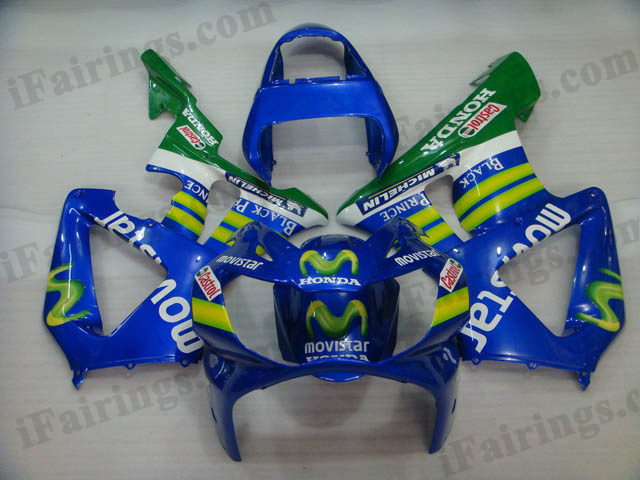 2000 2001 CBR900RR 929 movistar fairing kits