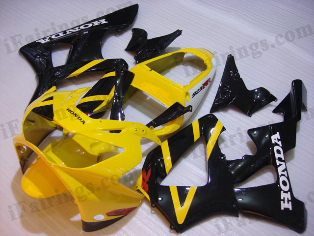 2000 2001 CBR900RR 929 oem yellow and black fairing kits