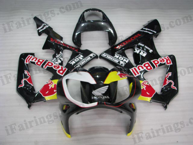 2000 2001 CBR900RR 929 red bull fairing kits