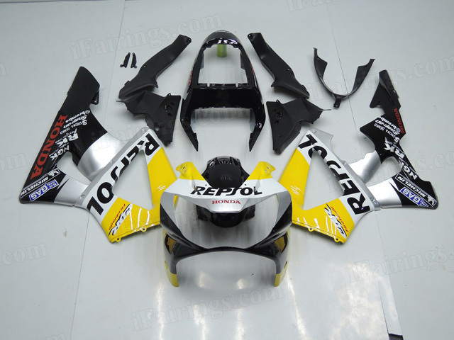 2000 2001 Honda CBR929RR custom repsol graphic fairing kits.