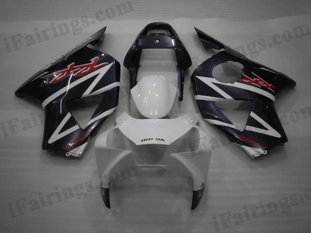 2002 2003 CBR900RR 954 white and blue fairings kit