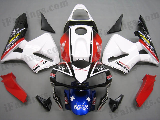 2003 2004 CBR600RR CARRERA facotry fairing kits.