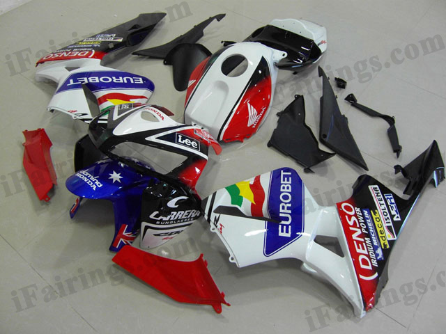 2003 2004 CBR600RR eurobet fairings.
