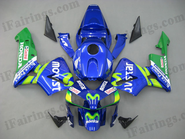 2003 2004 CBR600RR movistar replacement fairings.