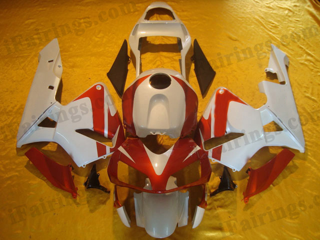 2003 2004 Honda CBR600RR red and black fairing kits