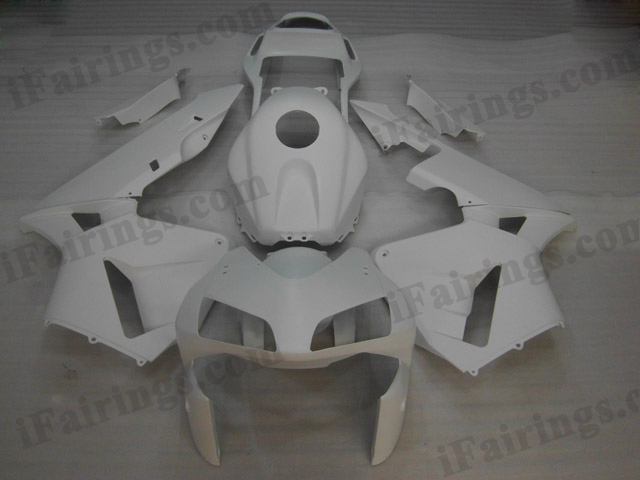 2003 2004 Honda CBR600RR matt white fairing kits