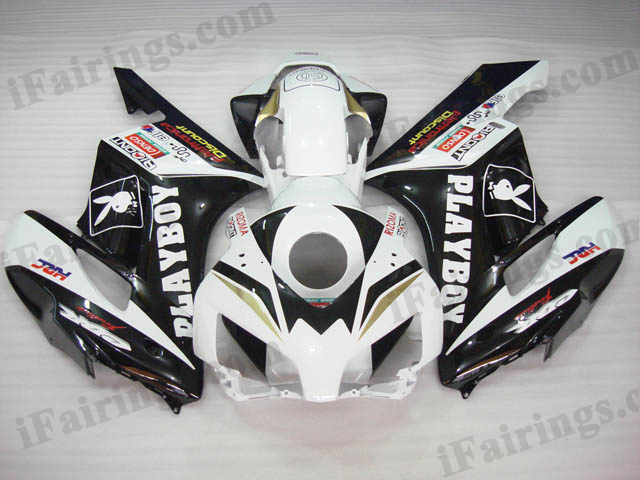 2004 2005 CBR1000RR PLAYBOY team race replica fairing kits.