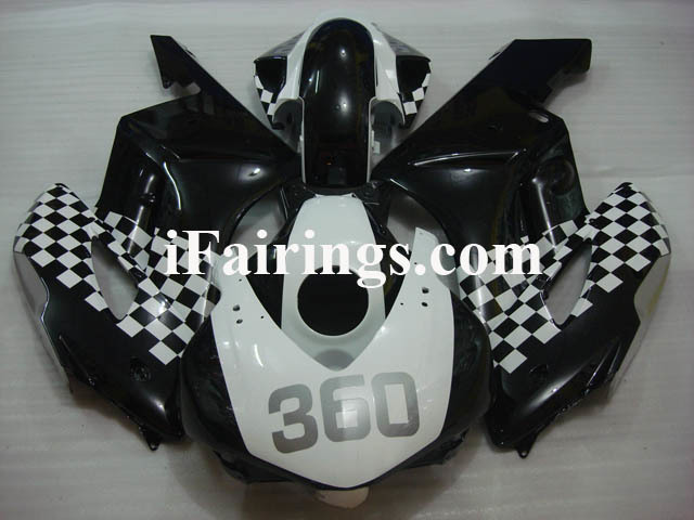 2004 2005 CBR1000RR custom fairing white and black