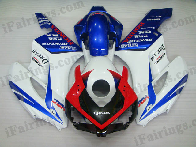 2004 2005 CBR1000RR red/white/blue custom fairings and bodywork