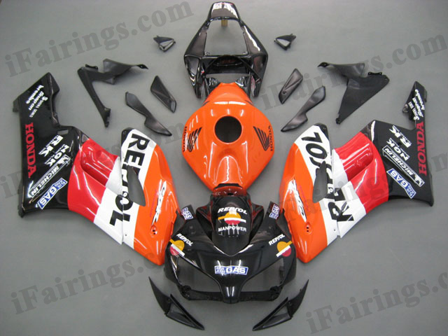 2004 2005 CBR1000RR repsol graphic fairings.