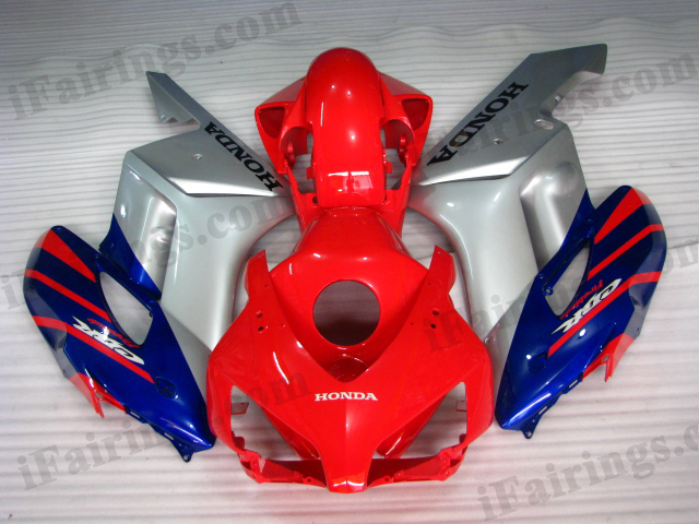 2004 2005 CBR1000RR red and silver fairing kits