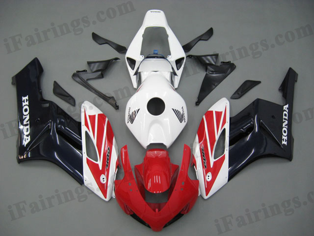 2004 2005 CBR1000RR red/white/black color scheme