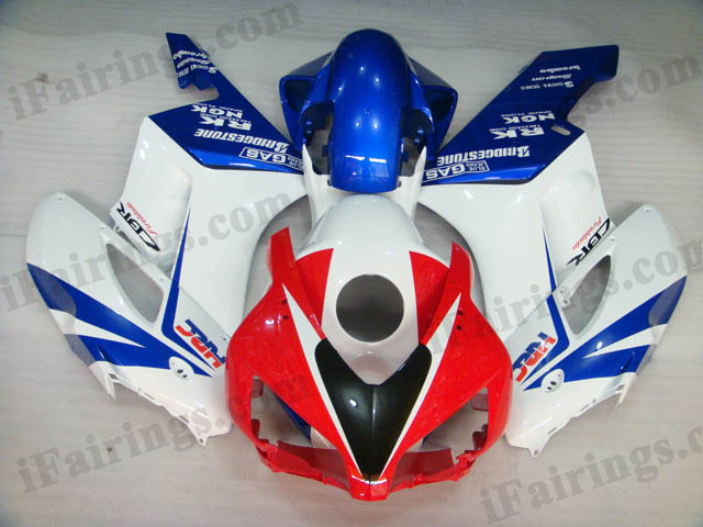 2004 2005 CBR1000RR red/white/blue custom fairing kits