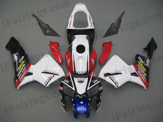 2005 2006 CBR600RR CARRERA fairings.