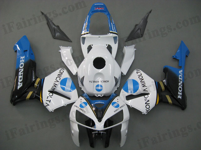 2005 2006 CBR600RR konica minolta fairings and body kits.