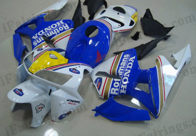 2005 2006 CBR600RR rothmans fairing kits