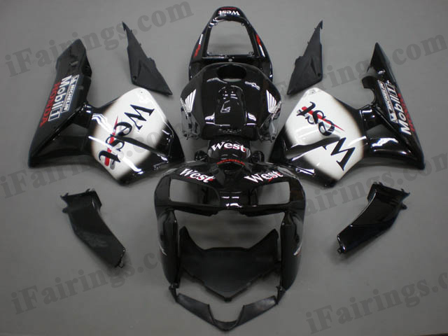 2005 2006 CBR600RR west fairings and body kits.