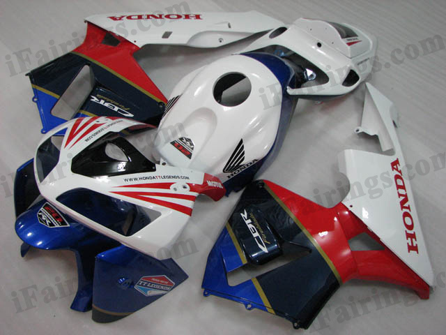 2005 2006 Honda CBR600RR factory color-matched fairings.