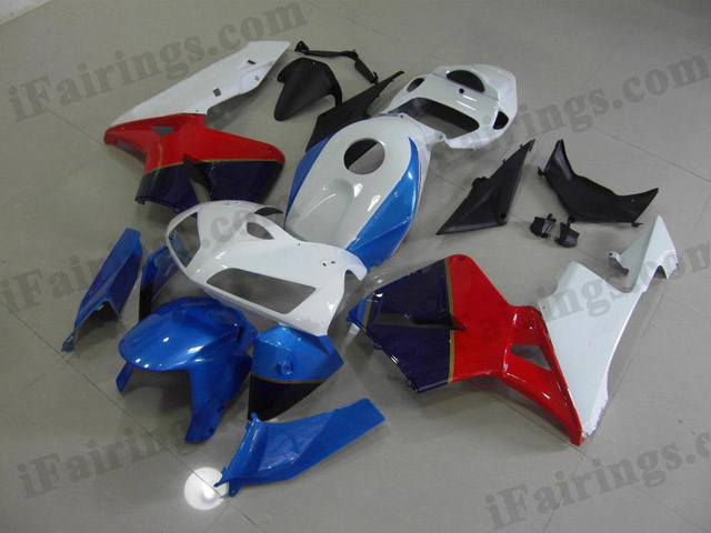 2005 2006 Honda CBR600RR factory color scheme fairings.