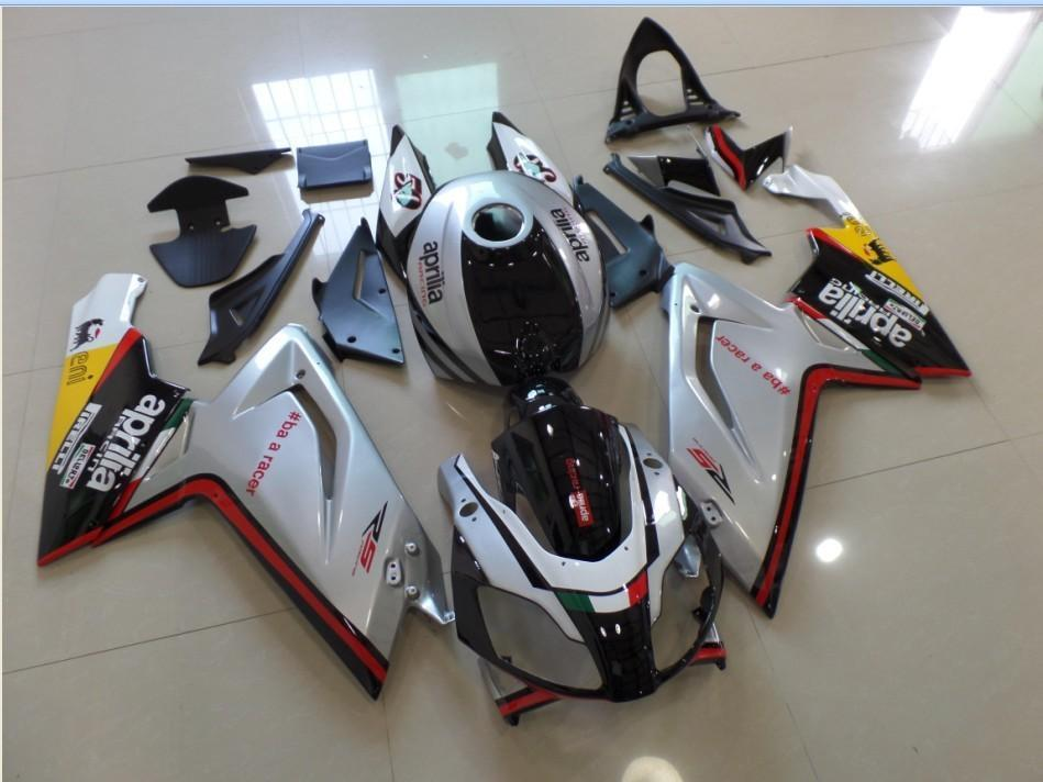RS125 2006 2011 SILVER BLACK RED