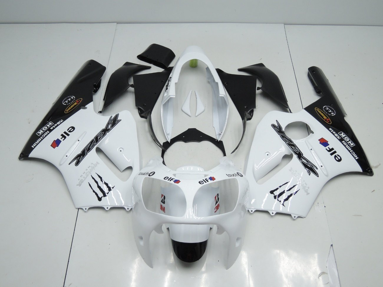 2000 2001 zx12r white black monster 2