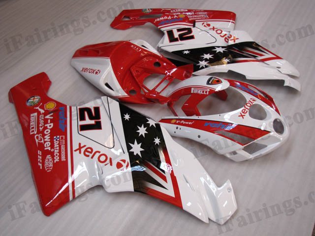 2003 2004 Ducati 749/999 bayliss limited edition fairing kits.