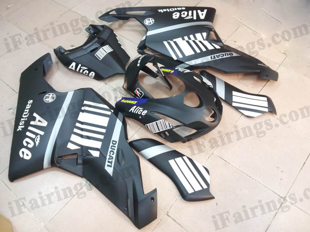 2003 2004 Ducati 749/999 black Alice fairing kits.
