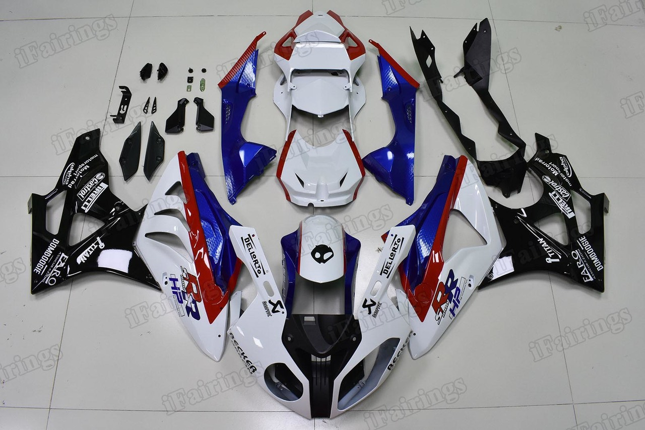 2009 2010 2011 2012 2013 2014 BMW S1000RR factory scheme fairing kit.