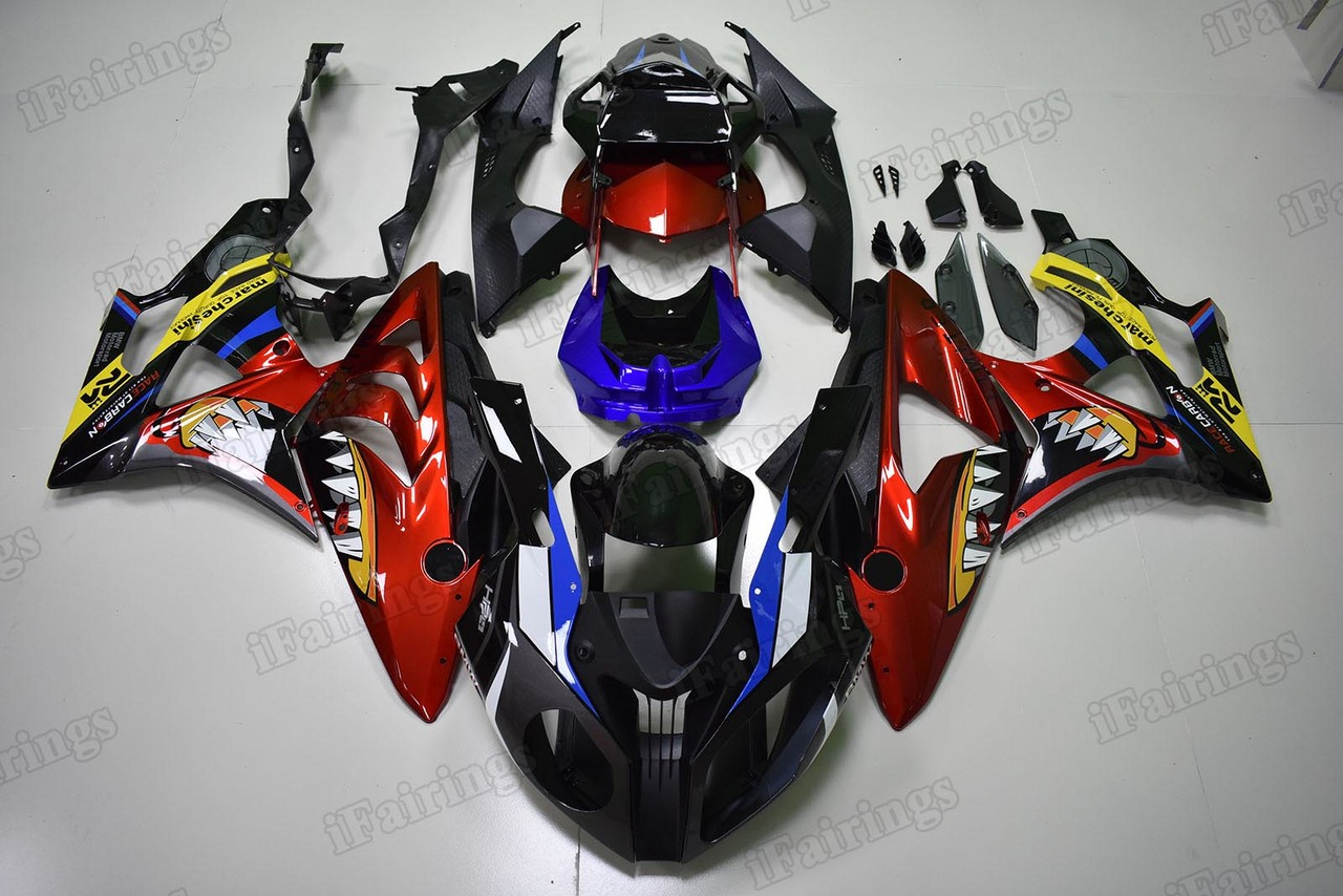 2009 2010 2011 2012 2013 2014 BMW S1000RR Fairing Kit