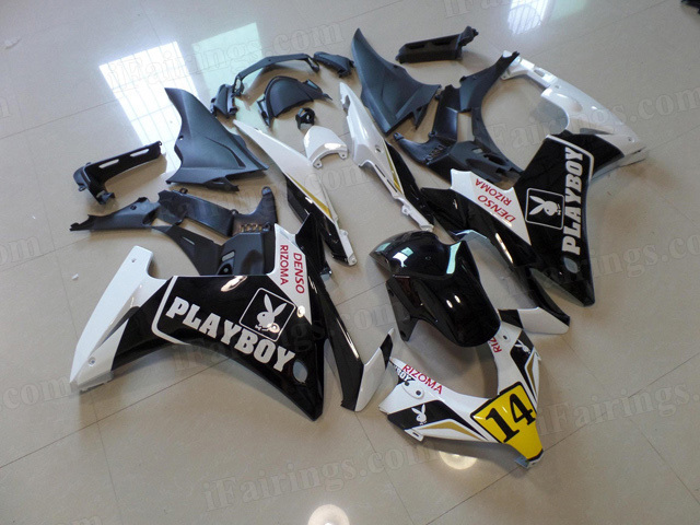 2013 2014 2015 Honda CBR500R PLAYBOY graphic fairing kits.
