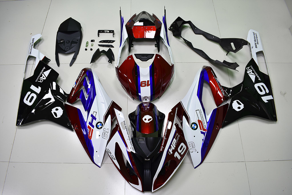 2015 2016 BMW S1000RR OEM Replacement Fairing Kit.