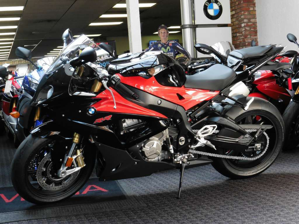 2015 2016 BMW S1000RR Black and Red Fairings/Bodywork.