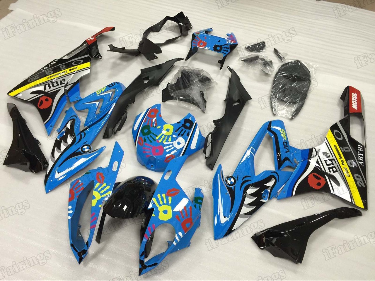 2015 2016 BMW S1000RR shark fairing kits.