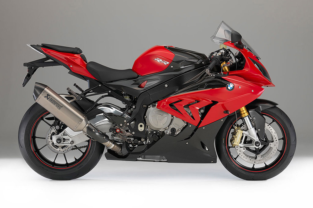 2015 2016 BMW S1000RR Red/Black Fairings.