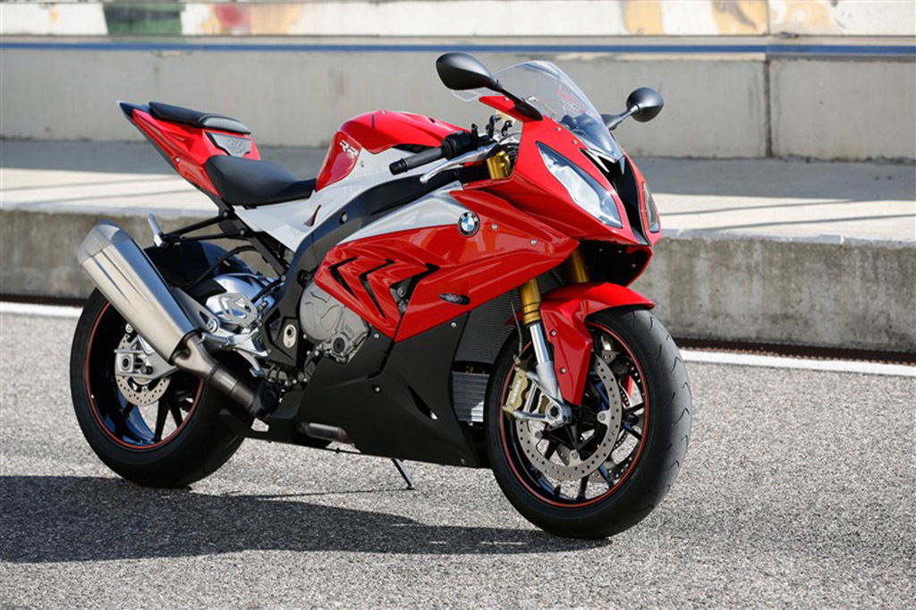 2015 2016 BMW S1000RR Red/White/Black Fairings.