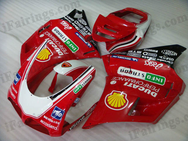 aftermarket fairings for Ducati 748/916/996 INFOSTRADA.