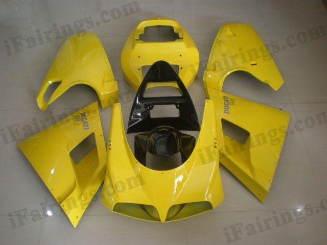 Ducati 748/916/996 yellow fairing kits.