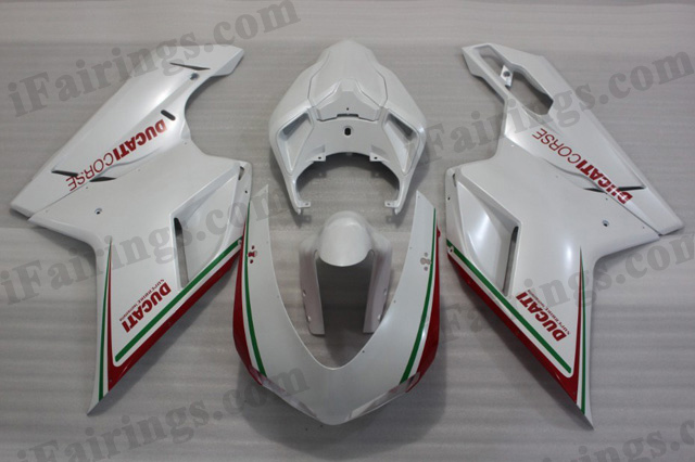 Ducati 848/1098/1198 tricolored fairing kits.