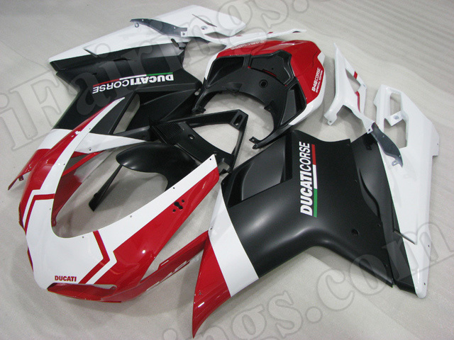 Ducati 848/1098/1198 Corse Special Edition graphic fairings/bodywork.