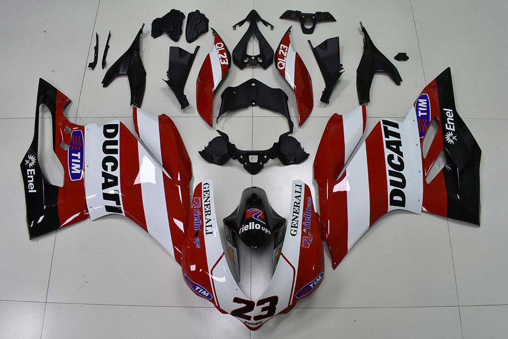 Ducati 1299 Generali OEM Replacement Fairing Kit.