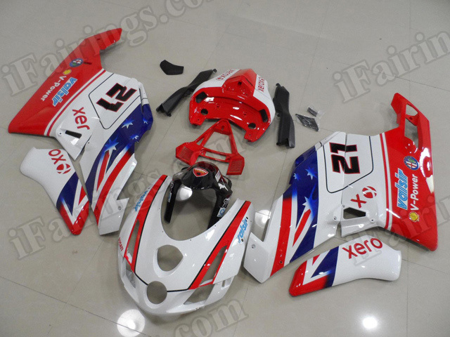 2003 2004 Ducati 749/999 Bayliss limited edition fairings.