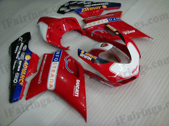 aftermarket fairing kit for Ducati 848/1098/1198 INFOstrada.