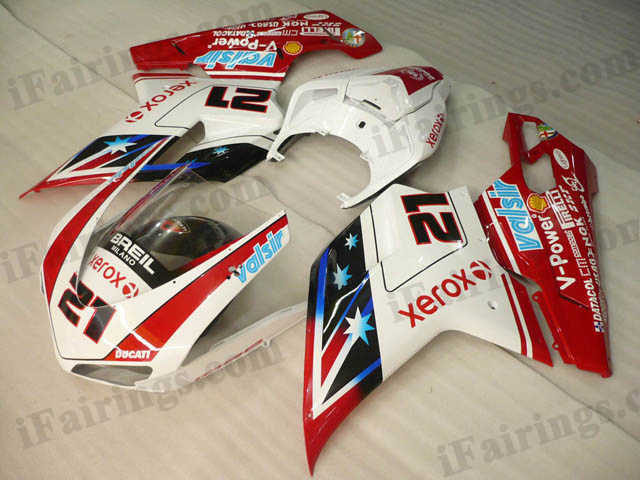 aftermarket fairing kit for Ducati 848/1098/1198 bayliss limited edition.