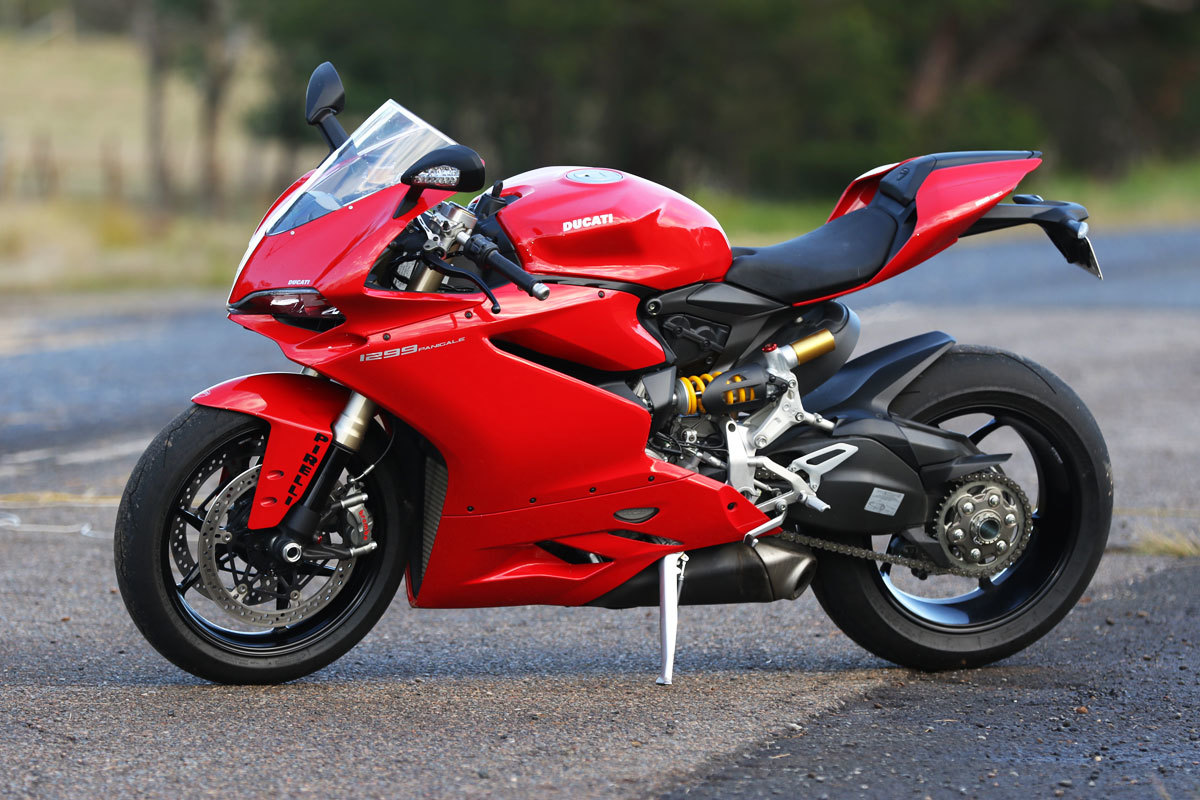 Ducati 1299 Panigale Red Fairing set.