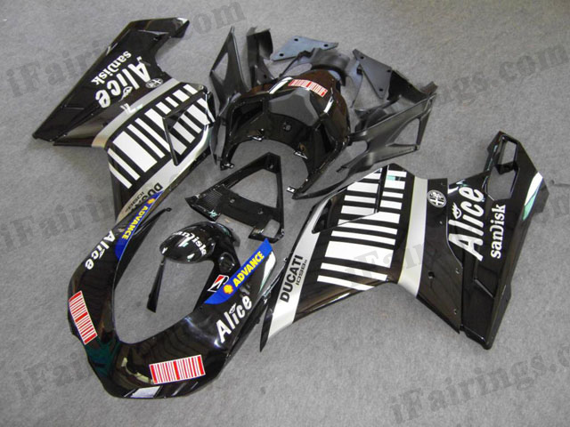 Ducati 848/1098/1198 Alice fairings, Ducati 848/1098/1198 replacement bod kits.
